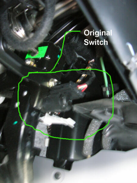 How To - EPC light/ke light switch install - NewBeetle.org Forums  Vw Jetta Ke Light Switch Wiring Diagram on